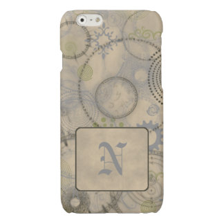 Old World iPhone 6/6s Case Custom Initial