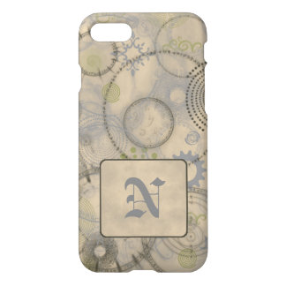 Old World iPhone 7 Case Custom Initial