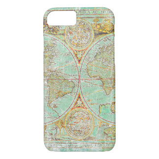 Old World Map iPhone 7 Case