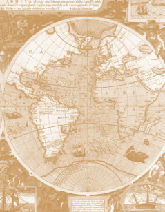 Old world map jigsaw puzzles zazzle old world map photo puzzle gumiabroncs Choice Image