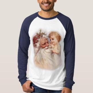 Old World Santa and Cherub Shirts