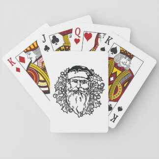 Old World Santa Playing Cards