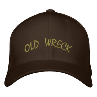 Old Wreck Hat Embroidered Baseball Cap