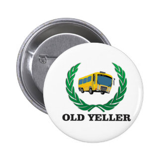old yeller bus fun 2 inch round button