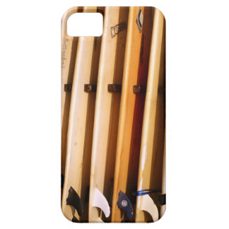 Old yellow surfboards iPhone 5 covers