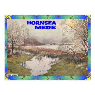 OLD YORKSHIRE - HORNSEA MERE POSTCARD