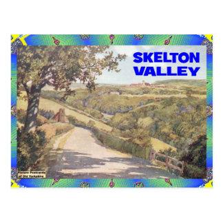 OLD YORKSHIRE - SKELTON VALLEY POSTCARD