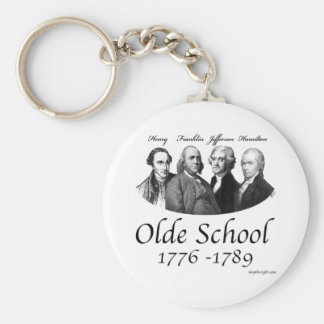 Olde School Keychain