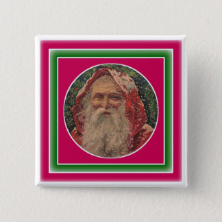 Olde St. Nicholas 2 Inch Square Button