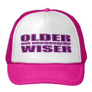 older not wiser hat
