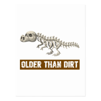 Older than dirt postcard