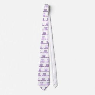 Older Wiser Whackier Tie