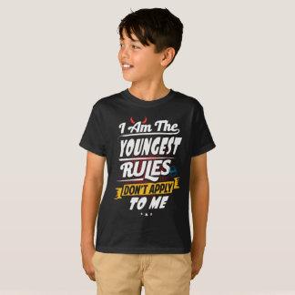 Oldest Child Funny Rule Maker Sibling Sister Bro T-Shirt