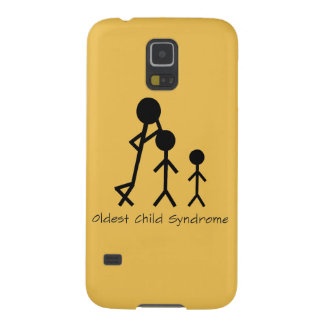 Oldest child syndrome funny Samsung Galaxy case