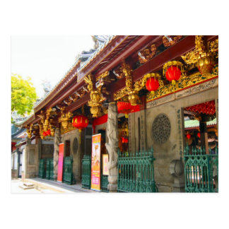 Oldest Chinese temple in Singapore Postcard