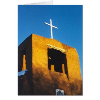 Oldest Church Structure in the U.S.A. Card