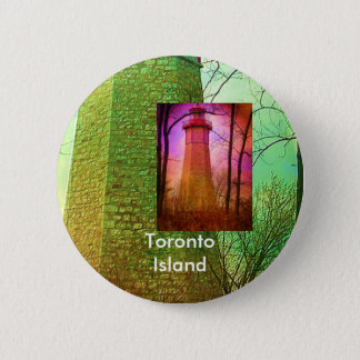 Oldest Light House in Toronto 2 Inch Round Button