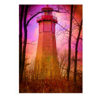Oldest Light House Toronto Island V2 Postcards