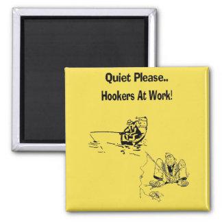 Oldest Profession Square Magnet