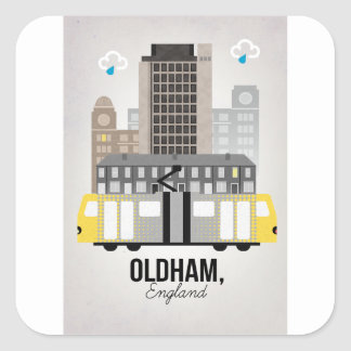 Oldham Square Sticker