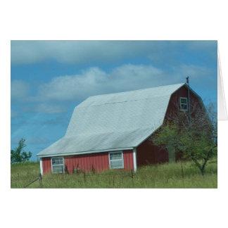 Oldie Birthday, Barns Card