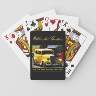 Oldies But Goodies Playing Cards