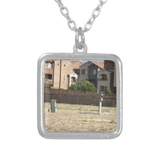 oldrivein silver plated necklace