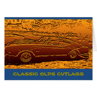 OLDS CUTLASS CARD