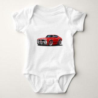 Olds Cutlass Red Car Baby Bodysuit