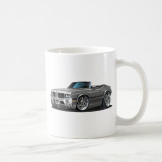 Olds Cutlass Silver Convertible Coffee Mug