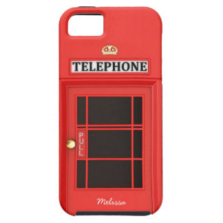 Oldschool British Telephone Booth iPhone 5 Cases