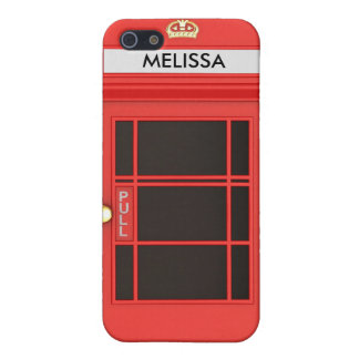 Oldschool British Telephone Booth Case For iPhone 5