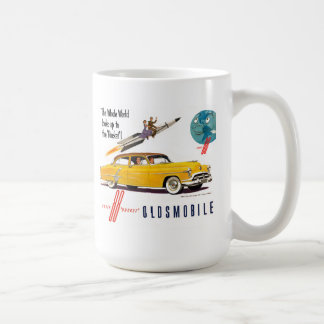 Oldsmobile  88 rocket coffee mug
