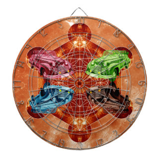 Oldsmobile Moon Dartboard