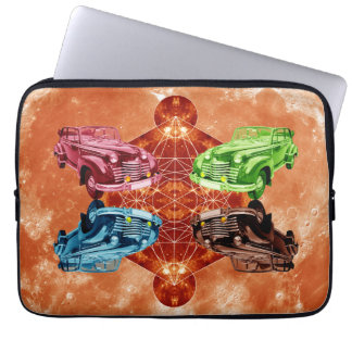 Oldsmobile Moon Laptop Sleeve