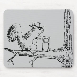 OLDSQUIRREL MOUSE PAD