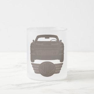 Oldtimer Car Frosted Glass Mug