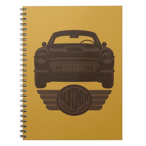 Oldtimer Car Notebooks