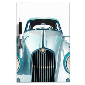 oldtimer car vintage automobile dry erase board