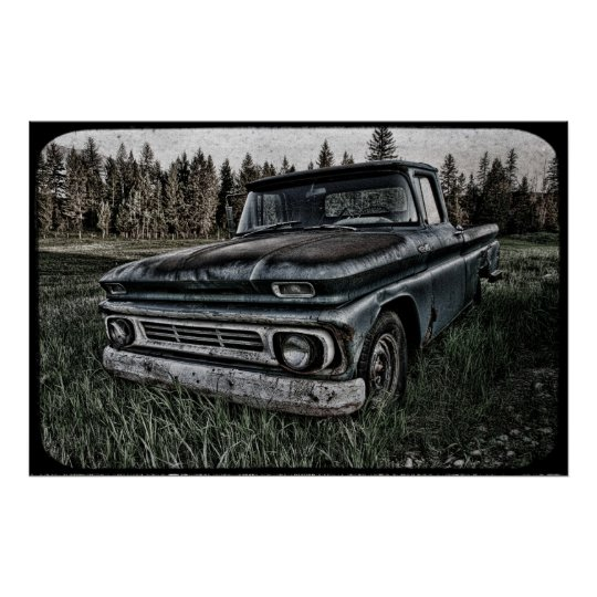 Oldy Chevy Poster