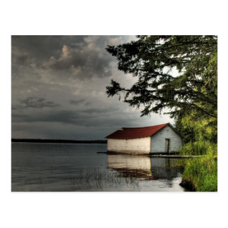 Ole Boathouse Postcard