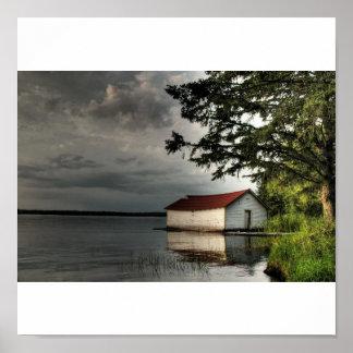 Ole Boathouse Poster