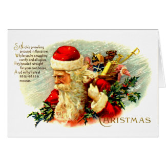 Ole Saint Nick Card