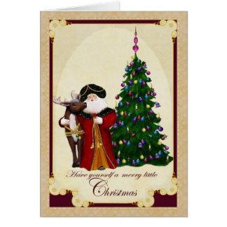 Ole St. Nick  Christmas Card