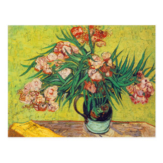 Oleanders Print by Vincent van Gogh Postcard