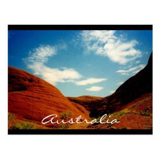 olgas australia postcard