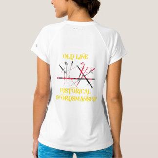 OLHS Women's Champion Double-Dry V-Neck T-Shirt