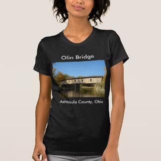 Olin Bridge Ashtabula County Ohio T-Shirt
