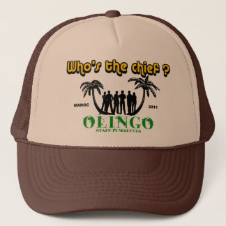 oling trucker hat