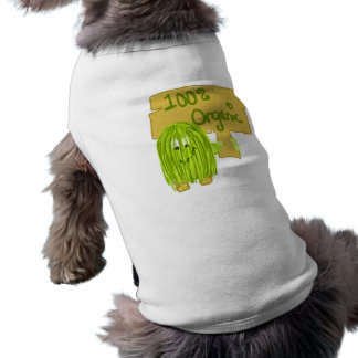 Olive 100% Organic Pet T-shirt